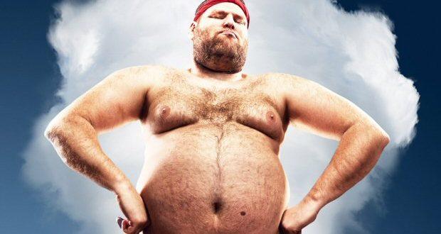 uomini grassi resistono di più