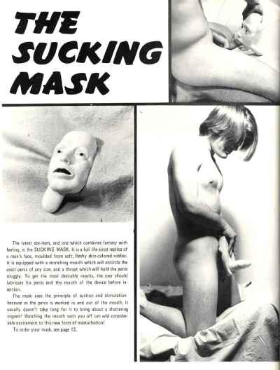 The sucking Masks